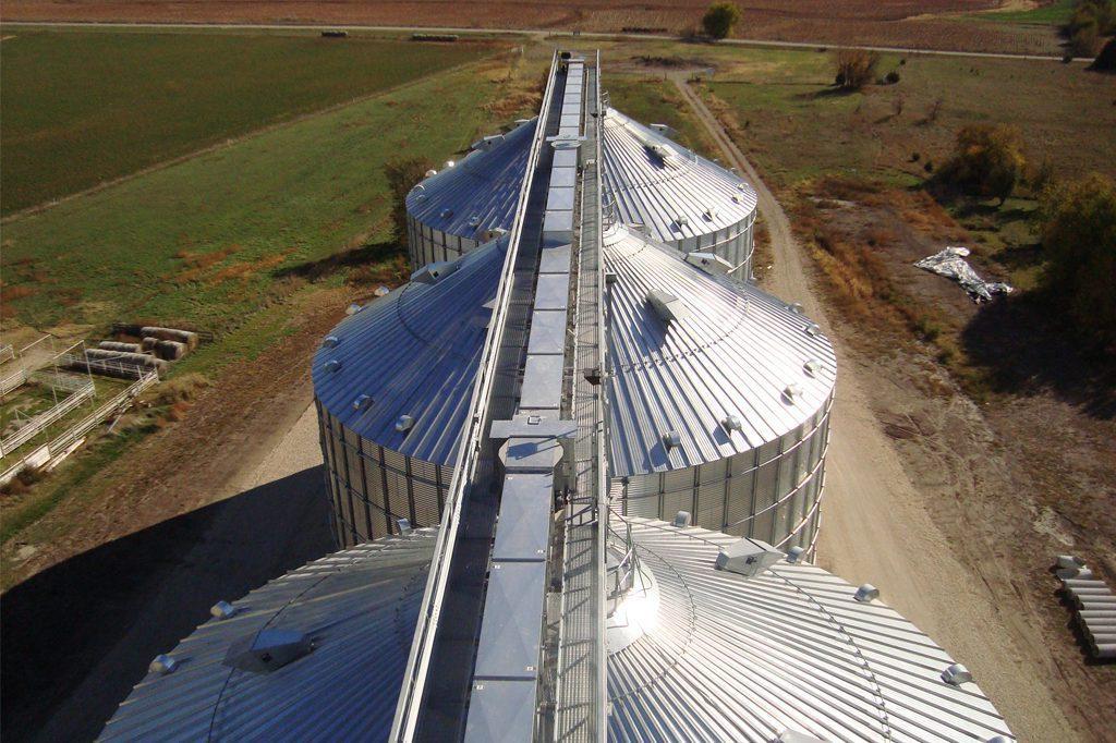 Grain Bin Construction — Macon Construction